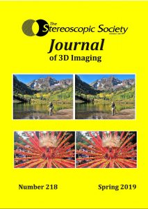 Stereoscopic Society Journal 218 - Spring 2019